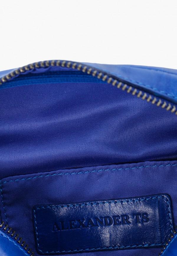 Сумка поясная Alexander Tsiselsky цвет синий  Фото 3