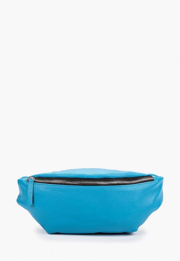 женская сумка lokis, бирюзовая