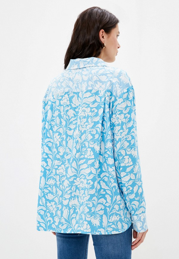 Блуза Lokis цвет голубой  Фото 3