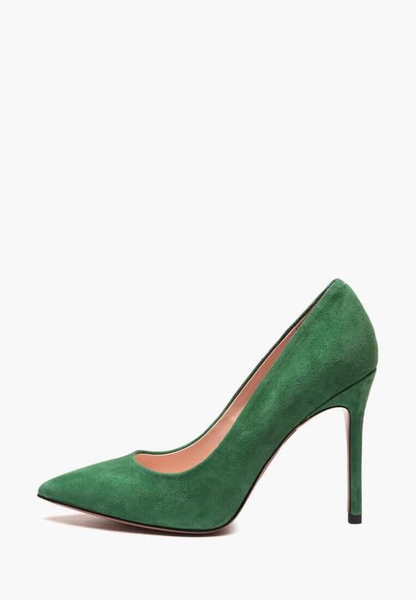 женские туфли basconi, зеленые