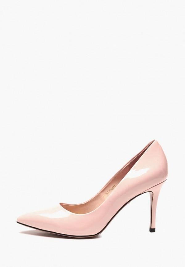 женские туфли basconi, розовые
