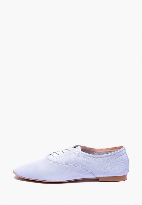 женские ботинки basconi, голубые