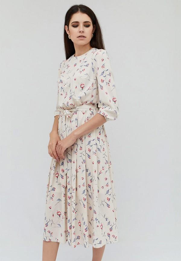 женское повседневные платье cardo, бежевое