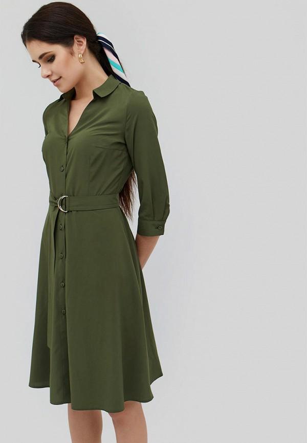 женское платье cardo, зеленое