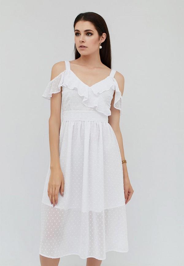 женское платье cardo, белое