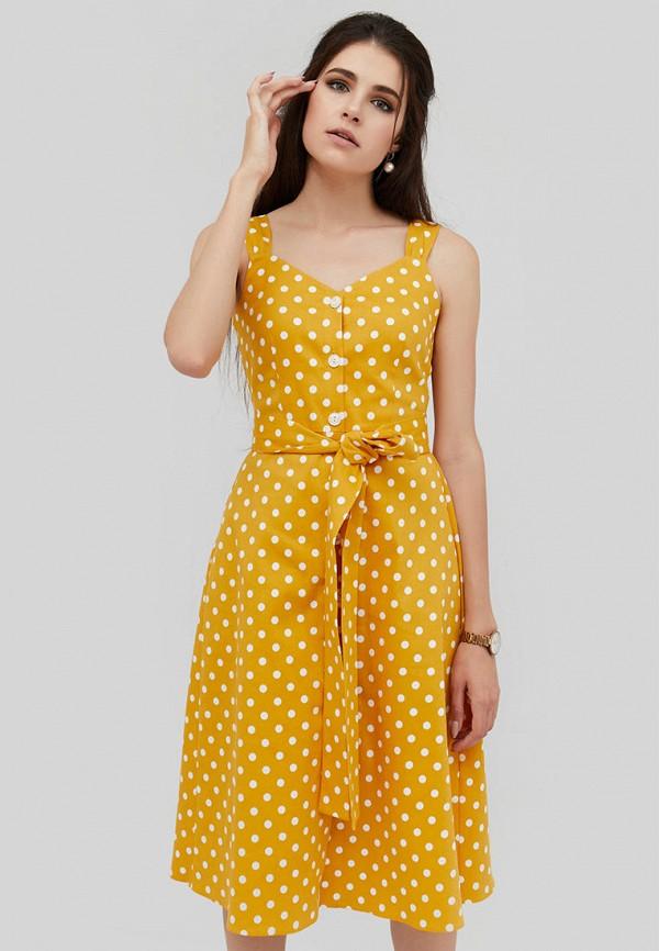 женский сарафан cardo, желтый