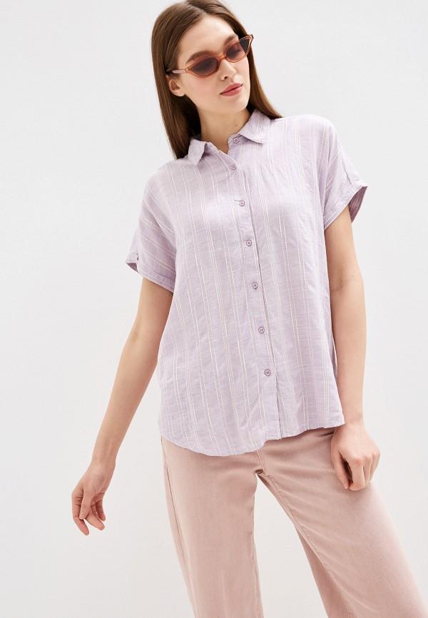 Рубашка Colin's цвет фиолетовый