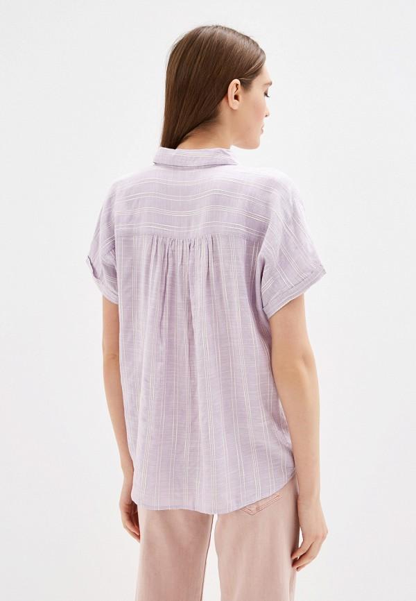 Рубашка Colin's цвет фиолетовый  Фото 3