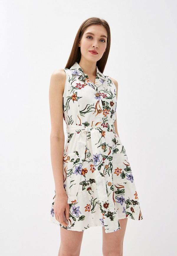женское платье colin's, бежевое