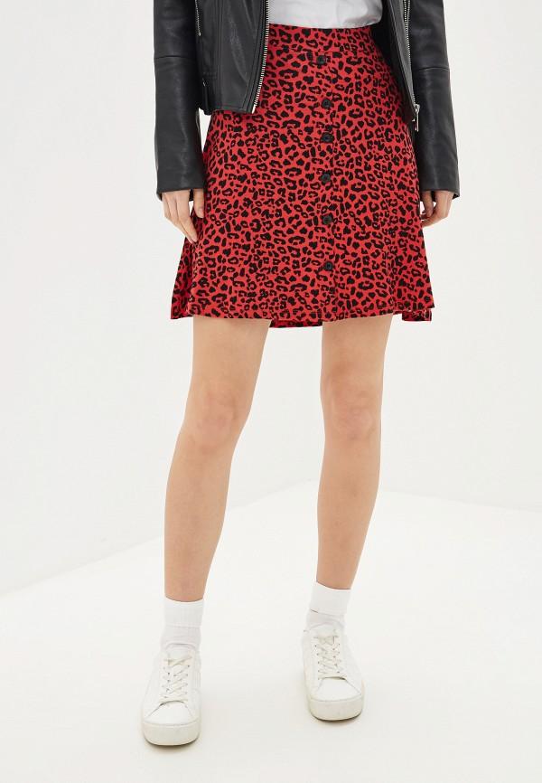 женская юбка colin's, красная