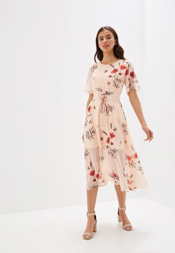 женское платье incity, розовое