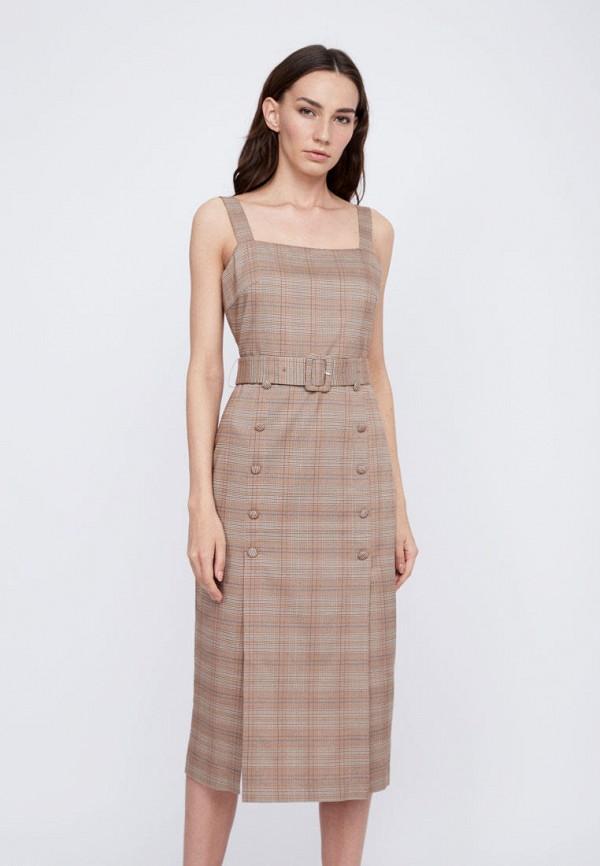 Платье Lime цвет коричневый