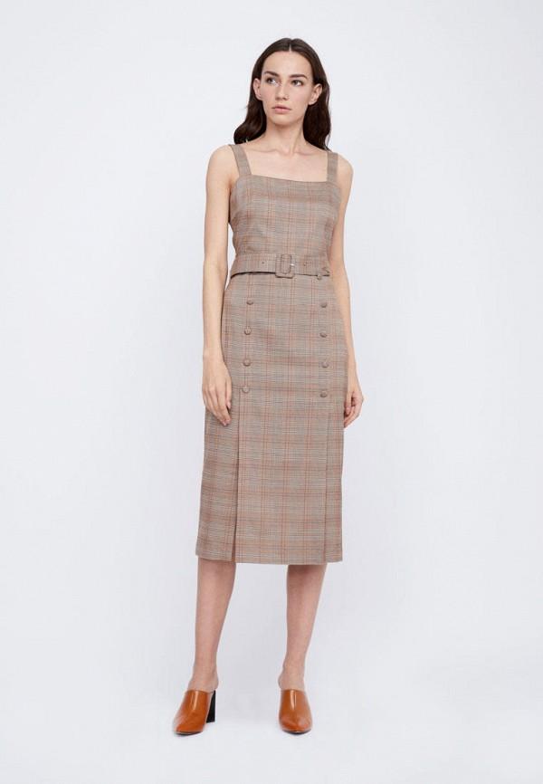 Платье Lime цвет коричневый  Фото 2