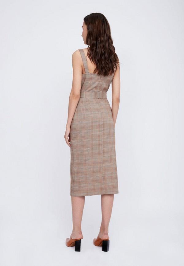 Платье Lime цвет коричневый  Фото 3
