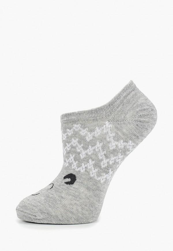 женские носки colin's, серые