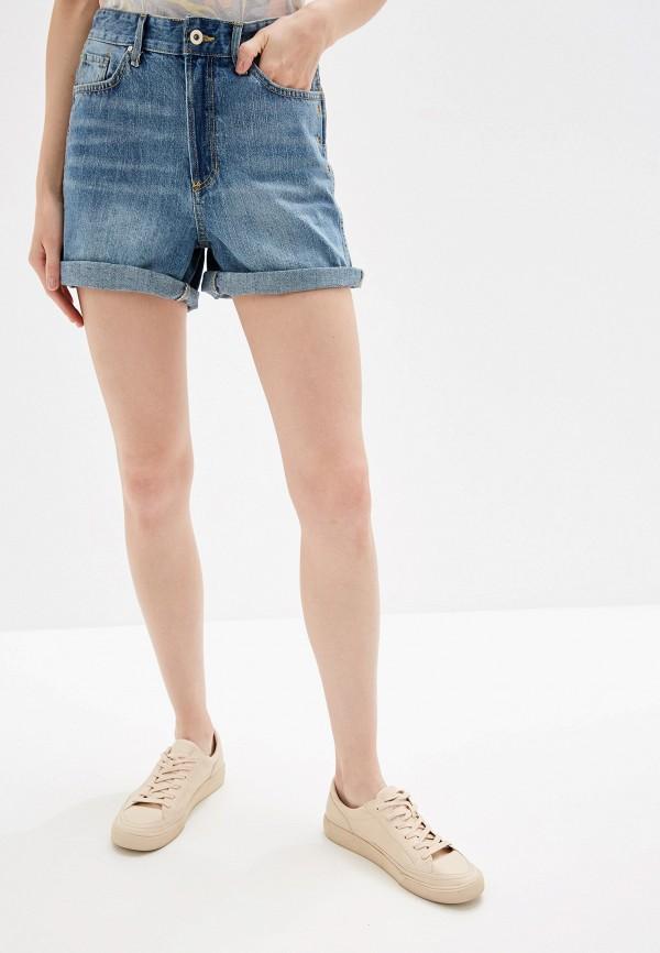 Шорты джинсовые Colin's цвет голубой