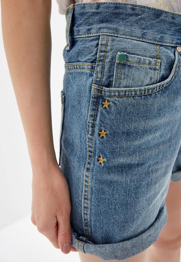 Шорты джинсовые Colin's цвет голубой  Фото 4