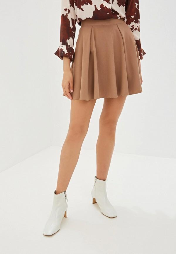 Юбка Ramanti цвет коричневый