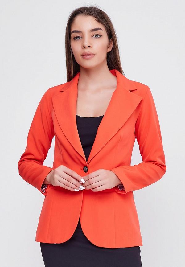 женский пиджак sfn, оранжевый