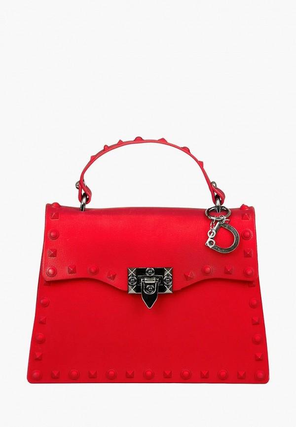 женская сумка dasti, красная