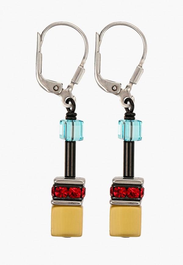 Купить Женские серьги, клипсы или пирсинг Coeur de lion разноцветного цвета
