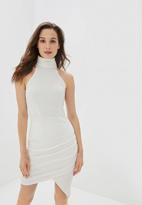 Фото - Женское платье Malaeva белого цвета