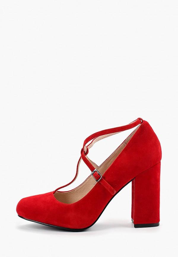 женские туфли pierre cardin, красные