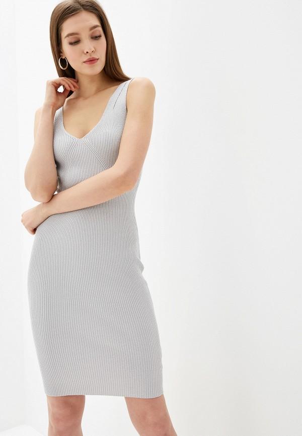 женское платье love republic, серебряное