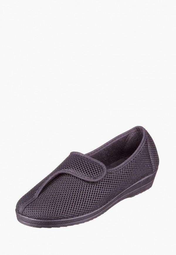 женские туфли casual, черные