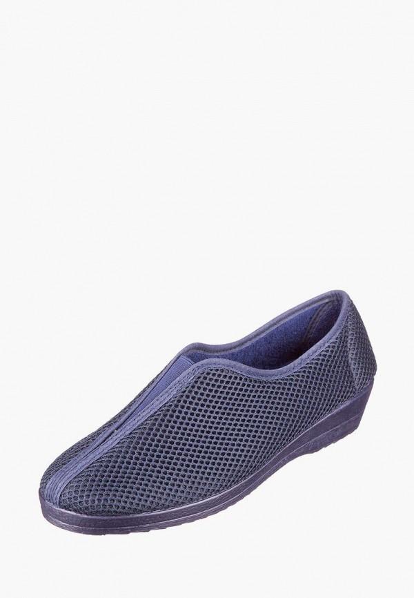 женские туфли casual, синие