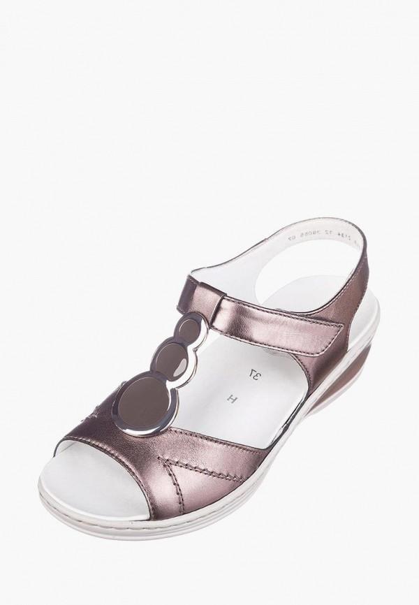женские сандалии ara, розовые