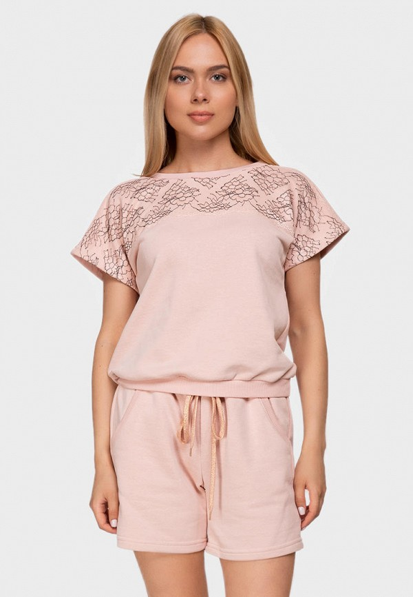 женский костюм german volf, розовый