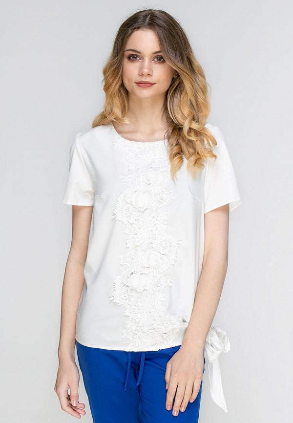 женская блузка zubrytskaya, белая