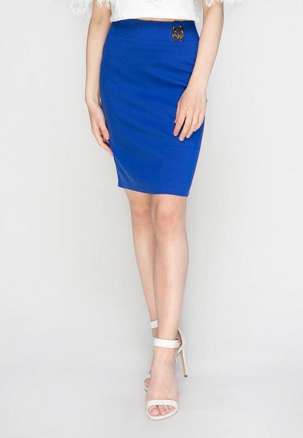 женская юбка zubrytskaya, синяя