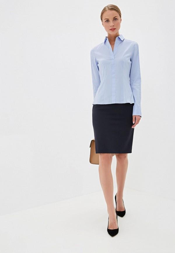 Блуза Boss Hugo Boss цвет синий  Фото 2