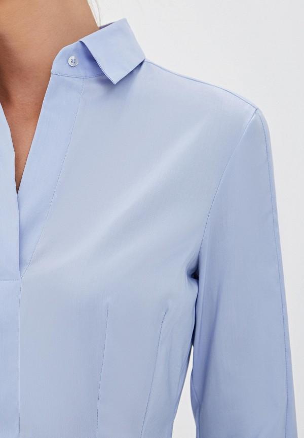 Блуза Boss Hugo Boss цвет синий  Фото 4