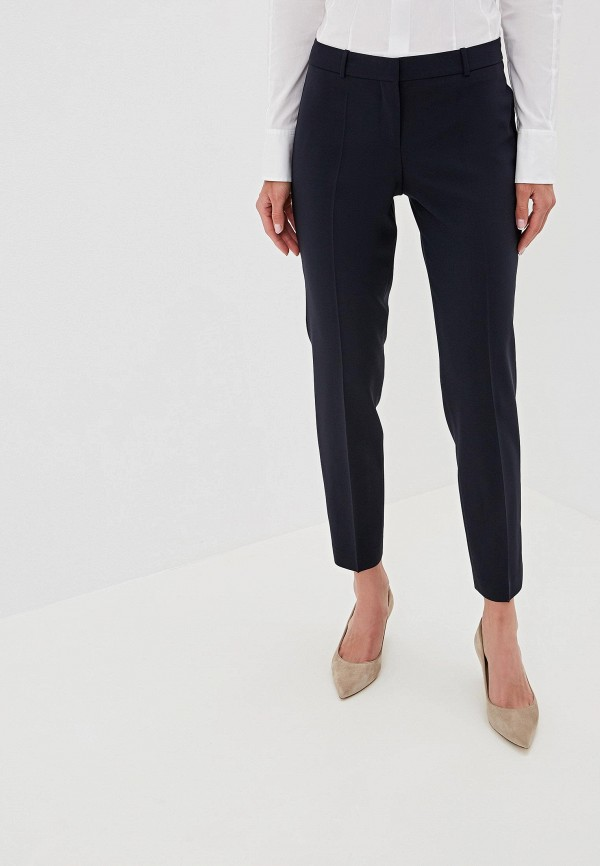 женские брюки hugo boss, синие