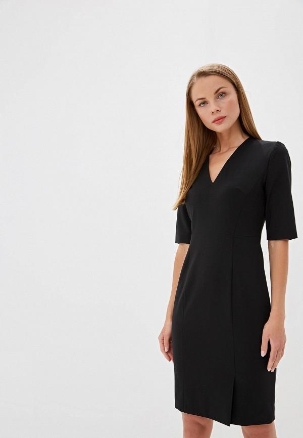женское платье hugo boss, черное