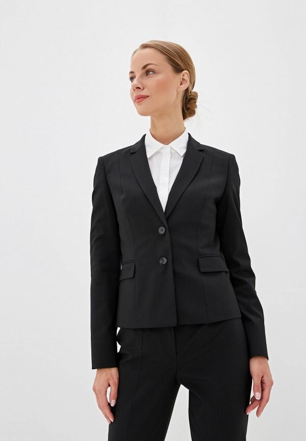 женский пиджак hugo boss, черный