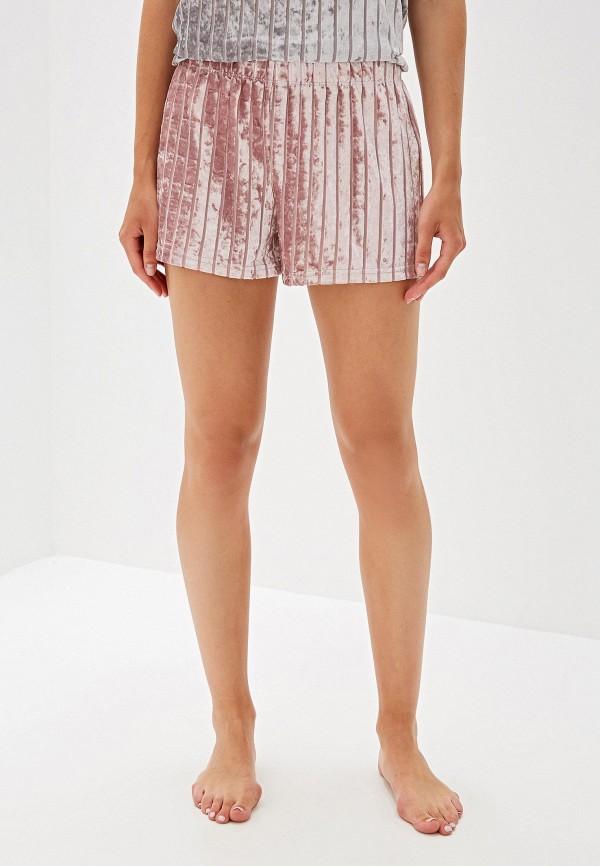 женские шорты deseo, розовые