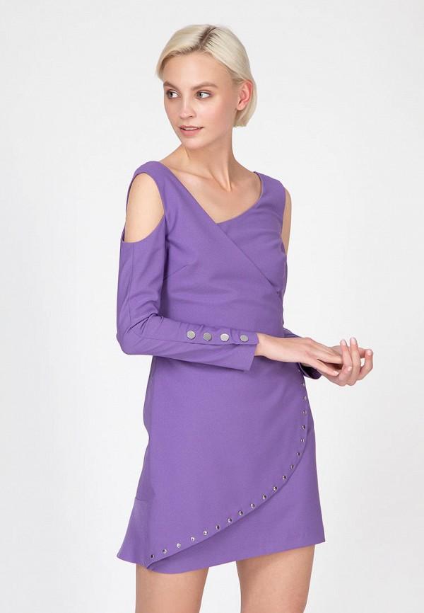 женское платье ornato, фиолетовое