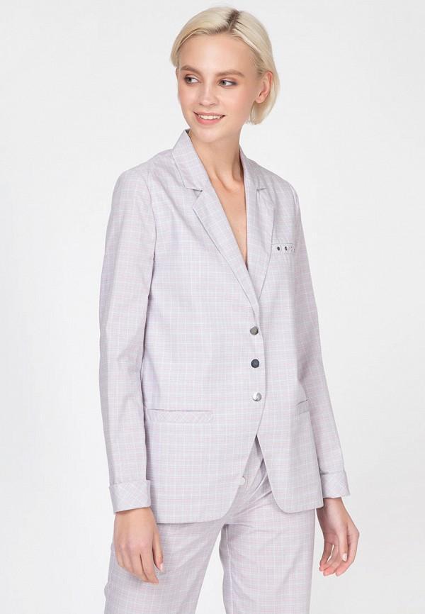 женский пиджак ornato, серый