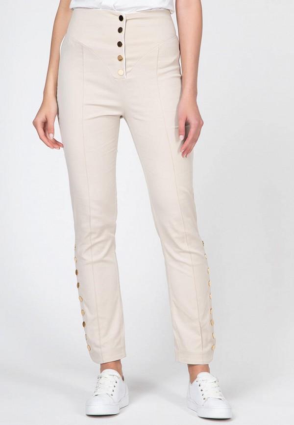 женские повседневные брюки ornato, бежевые