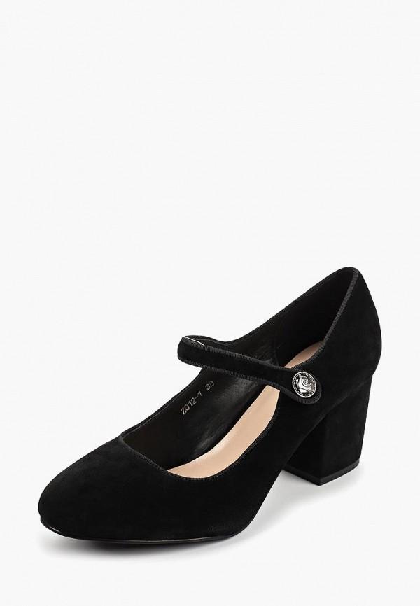 Туфли Pierre Cardin цвет черный  Фото 2