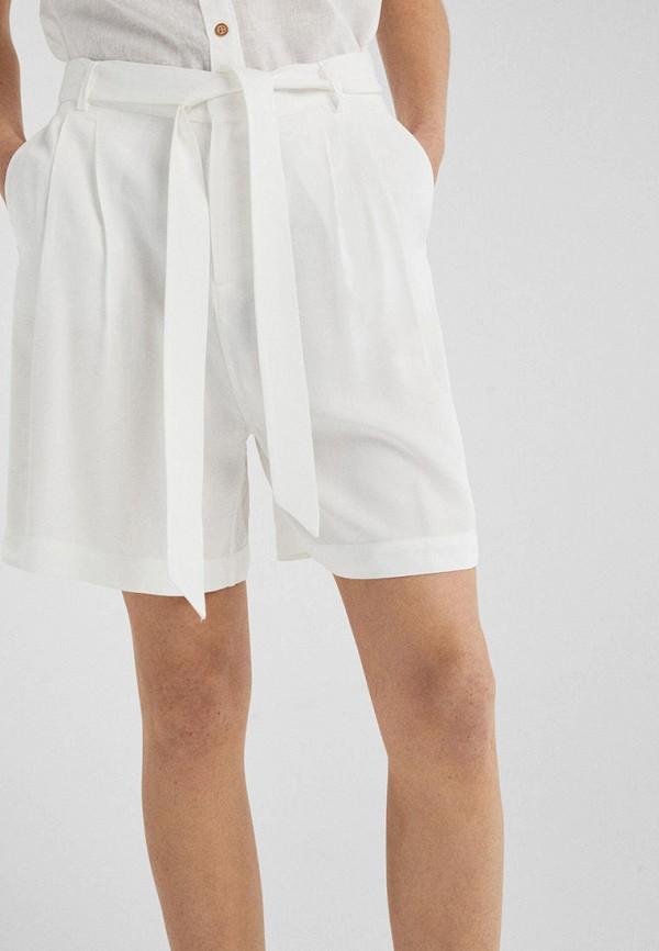 женские повседневные шорты springfield, белые