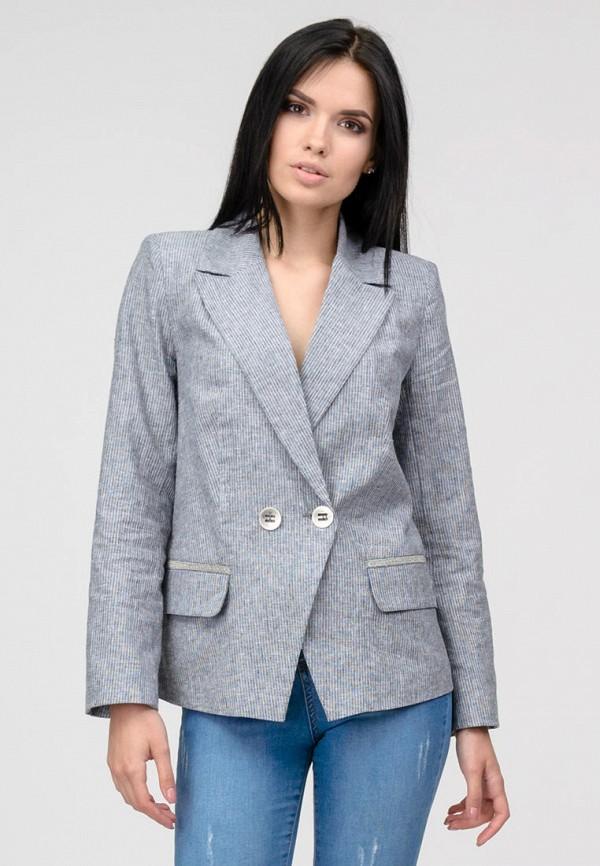 женский пиджак raslov, серый