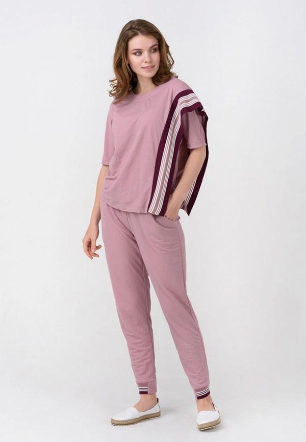 женский костюм ricamare, розовый
