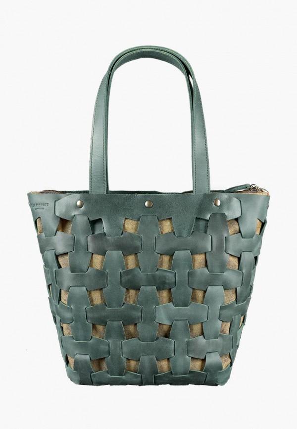 женская сумка blanknote, зеленая