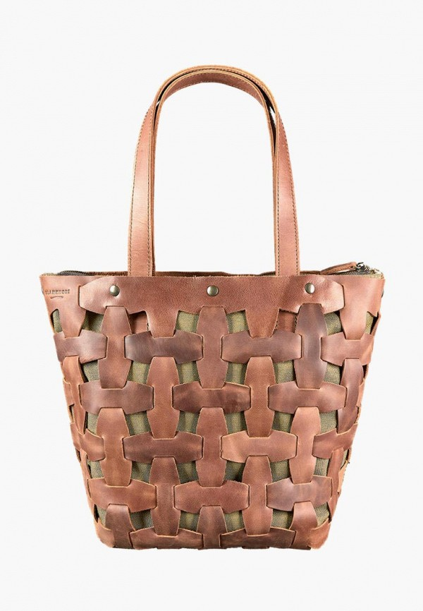 женская сумка blanknote, коричневая