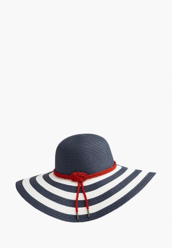 женская шляпа betmar, синяя